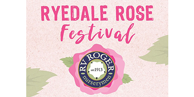 Join us at Ryedale Rose Festival 2019