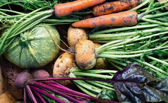 Vegetables Close Up