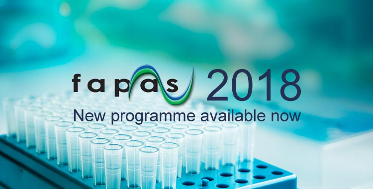 Fapas 2018 Proficiency Testing Programme