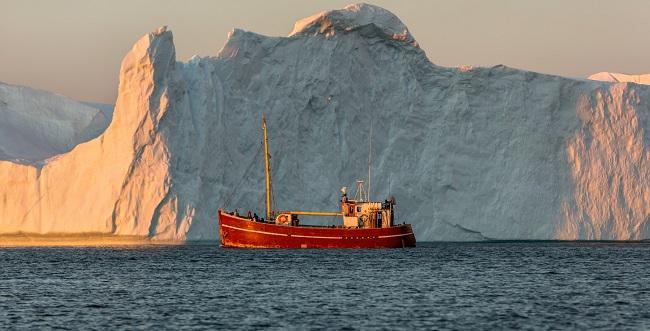 Iceberg Close Up